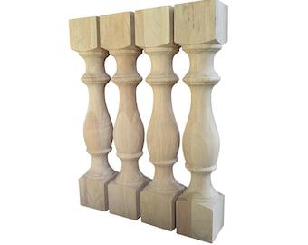 Wood Table Legs | Etsy