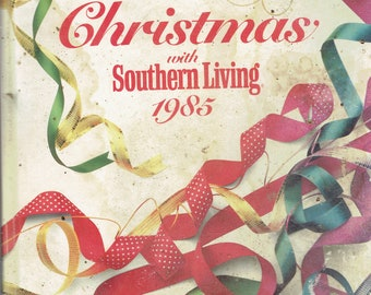 christmas book with southern living 1985