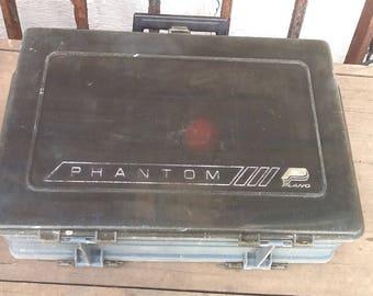 Planko Phantom Tackle Box w/Tack Vintage Fishing