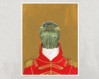 Art Print - Tortoise - Signed by Artist - 3 Sizes - S/M/L