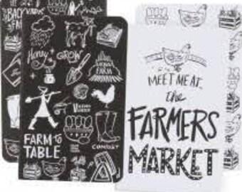 Farmers Market Small Notebook Set (2)