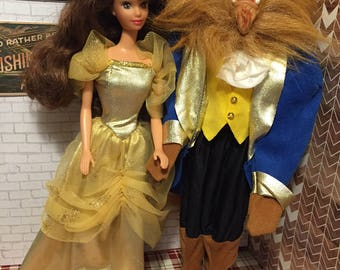 1991 Disney Beauty and the Beast Vintage dolls