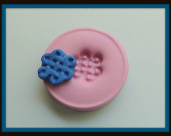 Celtic Knot Silicone Mold Resin Knot Mold Fondant Flexible Celtic Mold Polymer Clay Knot Mold