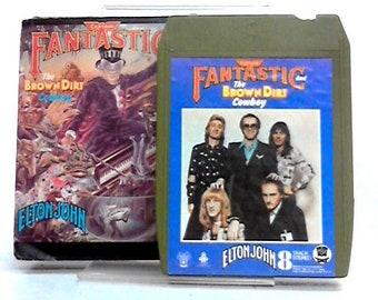 Elton John Captain Fantastic and the Brown Dirt Cowboy 8 Track Tape 1521211671SCC