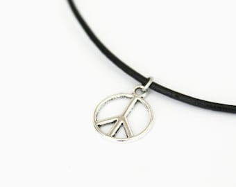 Peace necklace, choker