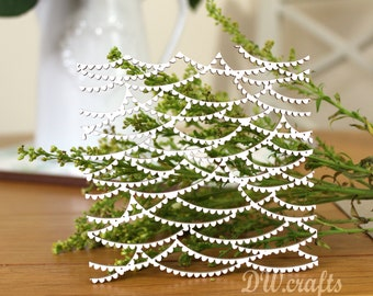 """Background Chipboard """"Fairy Lights"""" for mixmedia scrapbooking"""