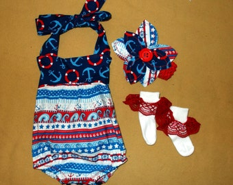 Bubble  Romper, Baby Sunsuit, bubble playset, Sunsuit Romper, Infant clothing, playwear sunsuit, baby girl clothes will fit a 6 to 9 mth old