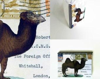 Camel Postcard A5 Notebook
