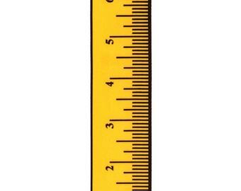 "5/8"" Measure Up Yellow Gold Satin Ribbon Measure Tape"