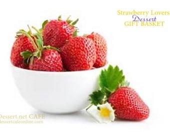 Strawberry Lovers Dessert Gift Basket