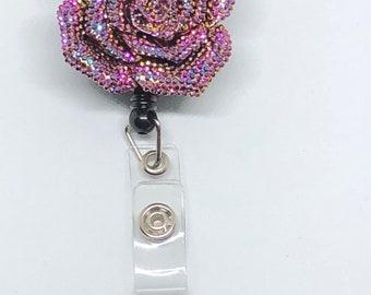 Sale - Retractable Badge Holder - ID Badge Reel Nurse - Badges - Badge Pull