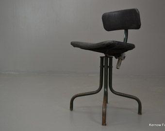 Retro Machinist Swivel Chair
