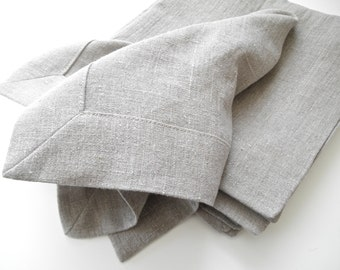 """Linen Napkin, 20""""X 20"""" Cloth Napkins,  Modern Dinner Napkin, Table Napkins, Flax Linen"""