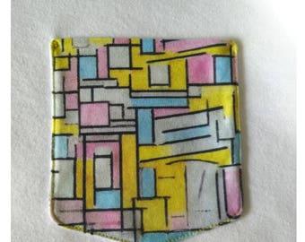 Piet Mondrian Composition Pocket Shirt