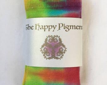 Tie dyed kids socks