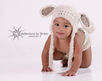 Lamb Baby Hat Lamb Costume Lamb Hat Toboggan Beanie gifts  sc 1 st  Etsy & Easter lamb costume | Etsy
