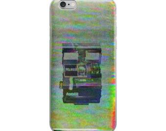 Polaroid Camera VHS Vaporwave Glitch Art Phone Case
