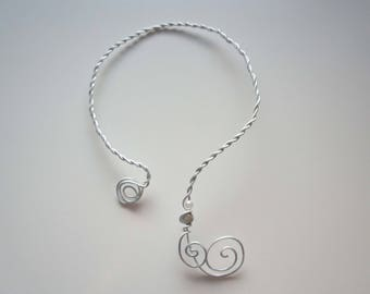 Twisted wire - Filiforme 2 necklace