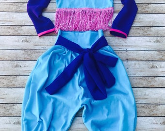 Shimmer and Shine Outfit, genie outfit, genie birthday, shimmer and shine birthday,
