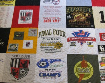 T-shirt Quilt Made to Order Deposit Only