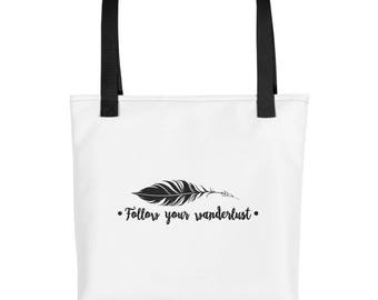 Follow Your Wanderlust Tote bag