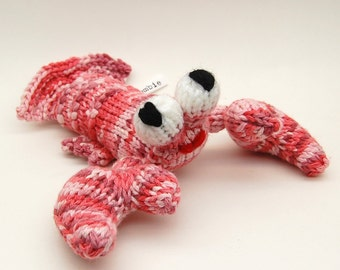 Lobstah Amigurumi Plush Toy Knitting Pattern PDF Digital Download