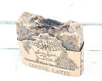 artisan soap, coffee soap, dry skin soap, goats milk soap, all natural soap, essential oil soap, handmade soaps, gentle, olive oil soap