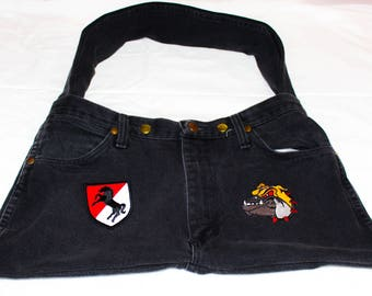 Military patch purse