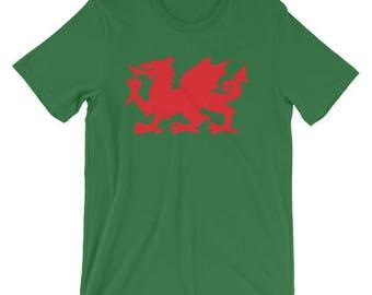 Welsh Dragon T-Shirt - Wales T-Shirt