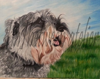Custom Painting (Pet Portrait)(Sample only)