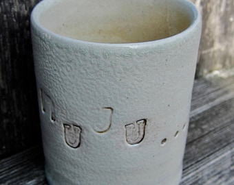 MEA-cups, cups, shelving cups, ceramic cups, Tontassen