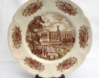 Royal Homes of Britain Buckingham Palace Plate Vintage