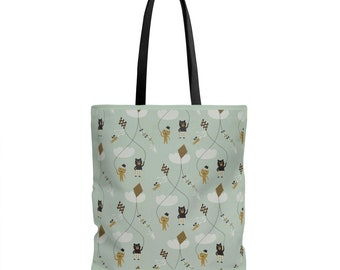 Cat And Bear bag