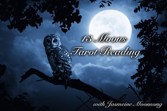 13 Moons Tarot Reading - Limited Edition