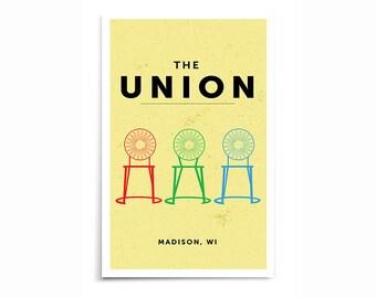 Madison Wisconsin Memorial Union - Multi-Chair