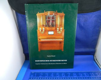 Datenspeicher Musikinstrumente = data storage musical instruments Book - Hard Cover - printed in 3 languages including English