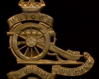 WWI Royal Canadian Artillery Hat Badge