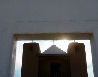 TAOS PUEBLO CHURCH (1), Located on the Taos Pueblo In Northern New Mexico.