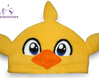 Final Fantasy - Chocobo Hat / Fleece Hat / Winter Hat / Final Fantasy Hat / Video Game Characters