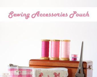 Sewing Accessories Pouch PDF Sewing Pattern