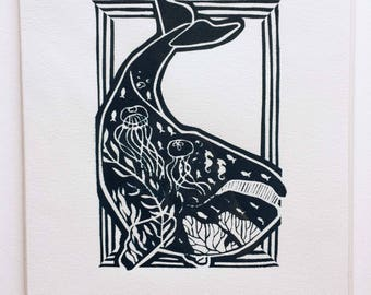 Animals and Their Environments, Hand-Pulled Screenprints