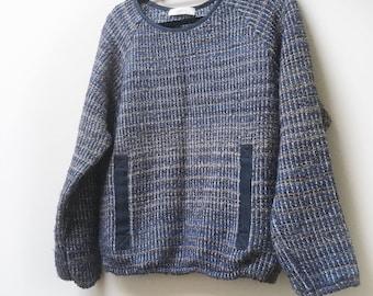 Sessun Jumper Senssun Carlotte Sweater Cropped Size Small Medium