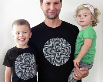 Father Daughter, Father Son Matching Shirts Sale - 3 tees for 55 Dollars, 2 kids, 1 mens, gift from son, gift from daughter, fathers day