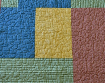 Color Block Quilt