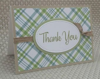 Thank You Card - This listing is for only one card!