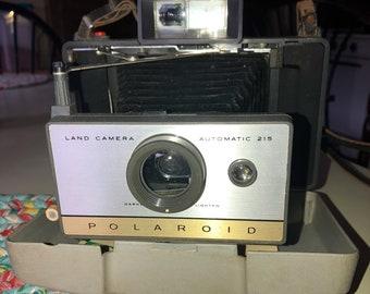 Vintage Polaroid 215 camera