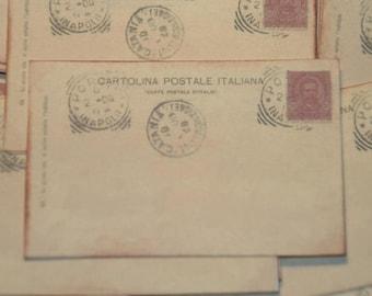 Wedding Guestbook Alternative, Vintage Post Cards Italian Italy Wedding,  Wedding Escort or Wedding Table Placecards