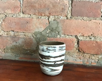 Marbled Stoneware Cup