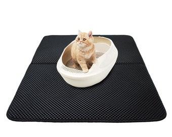 Double-layer Cat Litter Mat with FREE Litter Shovel