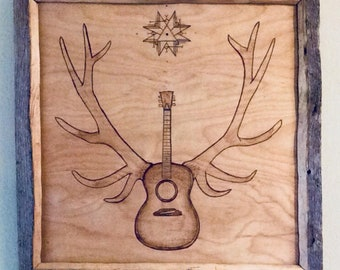 Pyrography/Woodburning, Octaves of Regeneration